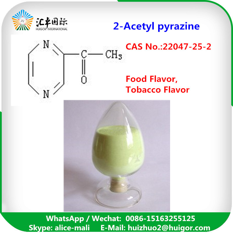 Synthetic Flavour & Fragrance 2- Acetyl Pyrazine CAS 22047-25-2