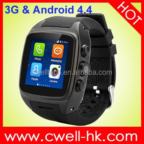 MTK6572 Dual Core WCDMA 3G Smart X01 Android Watch Phone