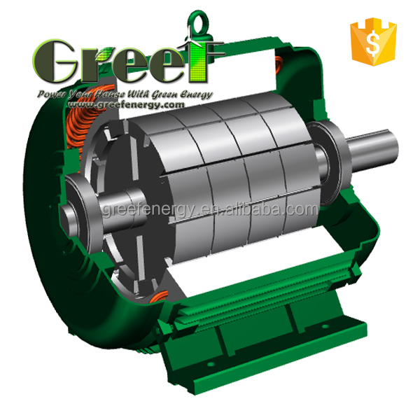 20kw 50 Rpm Permanent Magnet Generator High Quality Low