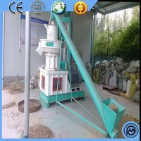 Durable latest boiler forming pelletizer efficiency vertical ring die pellet machine