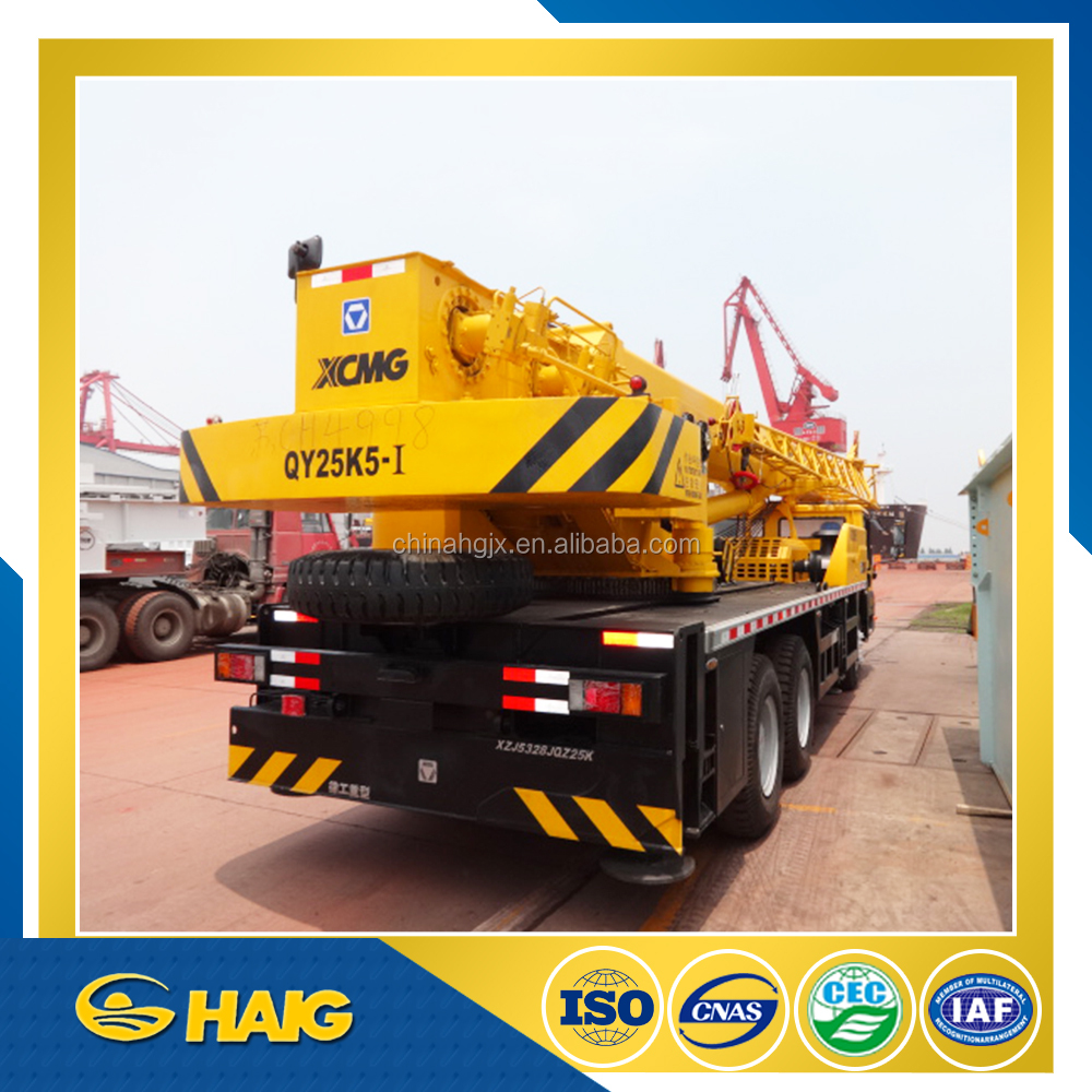XCMG Brand 25tons Truck Crane QY25K5-I For Sale/Hot Export Truck Crane