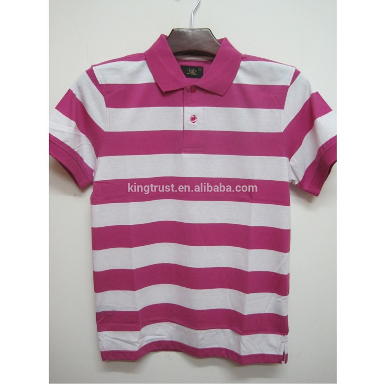 Mens engineering yarn dye polo shirt, 24K wholesale yarn dye polo shirt, different color striped polo shirt