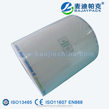 Medical Grade Tyvek Sterilization Rolls for ETO, Ray and Plasma Sterilization