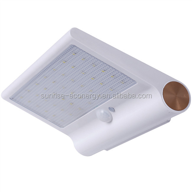 Easy to install CE certification solar light decoration for grave for outdoor wall lights