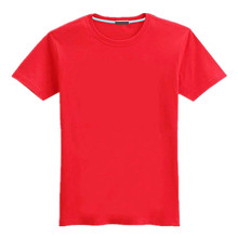 OEM blank red t shirts plain red t shirts for printing OEM clothing manufacturing