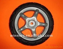 "6"" EVA foam tire with plastic rim"