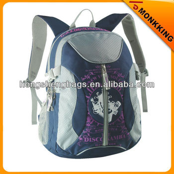 dark blue different models school bags