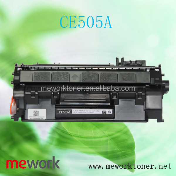 CE505A cartridge for HP used copiers