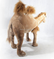 OEM custom adult plush and stuffed toys lifelike camel plush toy