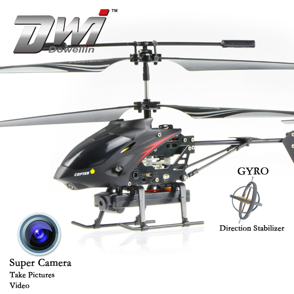 DWI Dowellin 3.5CH Professional Big RC Camera Helicopter With Camera