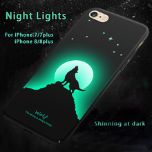 noctilucent design full of or shedding light pattern design phone case For Iphone 8