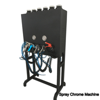 liquid image NO.LYH-CPSM106 hot sale chrome plating system spray paint machine