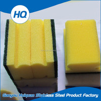 High quality kitchen cleaning sponge scrubber steel wool scouring pad