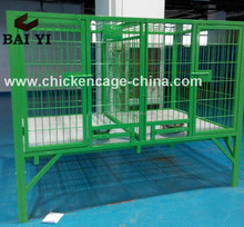 Big Dog Cage With Plastic Floor Cheap Hot Sell In US (Direct Sale Factory)
