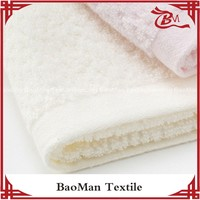 Baoman 100cotton plain color yarn dyed terry cloth thick face towel warm with good design