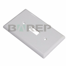 YGC-011 American plastic led light switch plate for socket