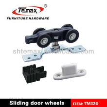 TM326 Nylon Iron Sliding Glass Door Hanging Wheel