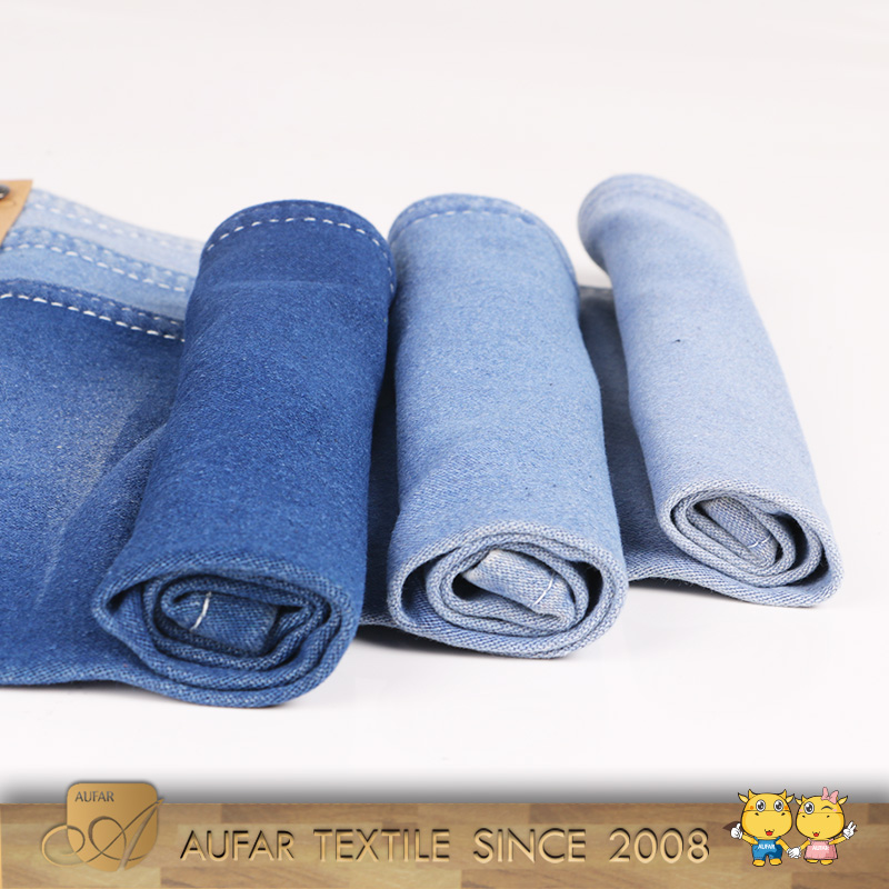 Hot sale raw denim fabric stock lot for jeans