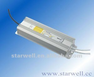 12V 5A waterproof IP67 led driver with CE,FCC