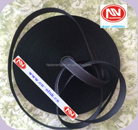 80% Nylon mix 20% polyester black hook and loop fastening tape