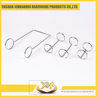Customed different type Chrome o-ring binder ring for calendars