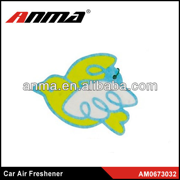 Nice anima cartoon shape car paper air freshener japanese car air fresheners