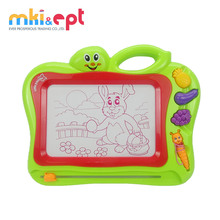 Preschool Educational Toys Kids Plastic Magnetic Drawing Board With Pen