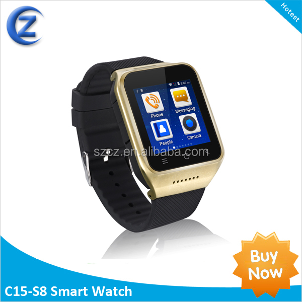 2014 Nov. Latest models Handsfree call unlocked smart watch mobile phone With GSM SIM slot for Samsung Galaxy 3/4/5/Note 4/5