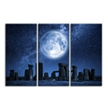 Nature Landscape Stonehenge and The Starry Sky British Scenery Canvas Art Prints Modern HD Photo Printing Drop-ship Home Decor