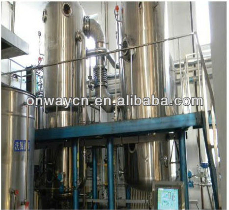MVR Mechanical vapor compression waste water evaporator