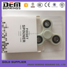 Glow Hand Fidget Spinner with R188 bearing as central bearing