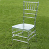 on sale brightly crystal resin chiavari chair for weddings