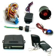 Universal remote smart keyless entry anti-hijacking car alarm that calls cell phone
