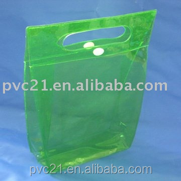 Chearp PVC Soft Plastic Shampoo Promotional Set Packaging Button Bags