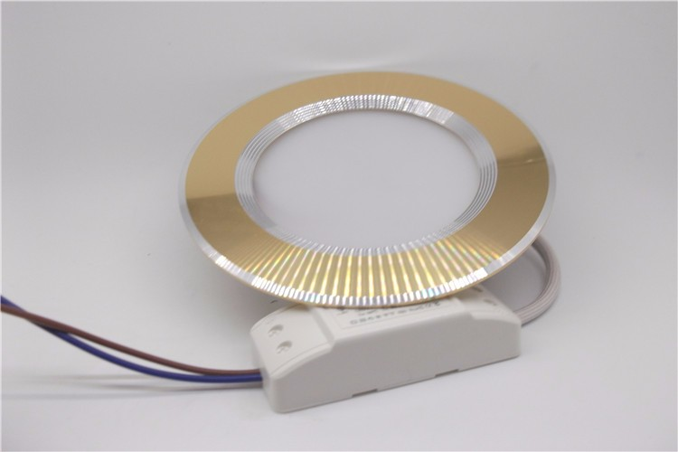 Manufacture Ultra Slim led downlight 3inch 4inch 6inch SMD downlight Gold Housing led ceiling downlight