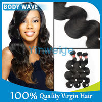 Expression Unprocessed Weave Hair For Beautiful Black Women Real Hair Weave Human Hair