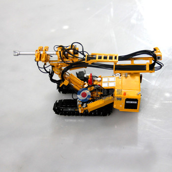 1:50 die cast rotary-drill miniature model,high detailed replica model,chinese die cast scale model factory