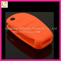 Cheapest price good quality silicone rubber unit color blank key shell for audi/peugeot/bmw/benz/cadillac/citroen/cherry