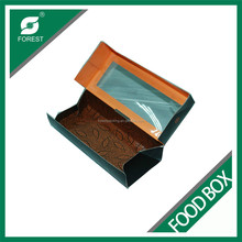 FOOD GRADE FANCY CARDBOARD FOOD BOX FOR PACKING SUSHI WITH ENVIRONMENTAL PE COATED