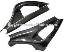Carbon motorcycle parts swingarm covers