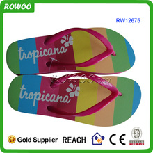 New fashion the national flag team slipper/flip flop