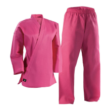 pink/red/white/black Karate Uniform,Martial Art Suit for women/men