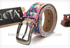 Amazing colourful printed eco finish belt
