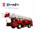 API 4F China Origin 100t 550hp truck-mounted workover rig