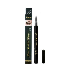Cool black quick - drying eyeliner watercolor watertight halo eyeliner pencil eyeliner pen makeup big eyes gel paste wholesale