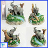 Resin Elephant Figurine For Souvenir