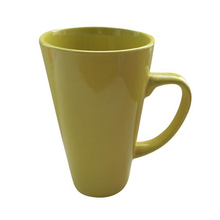 Wholesale high quality dollar store white clay ceramic tea mugs