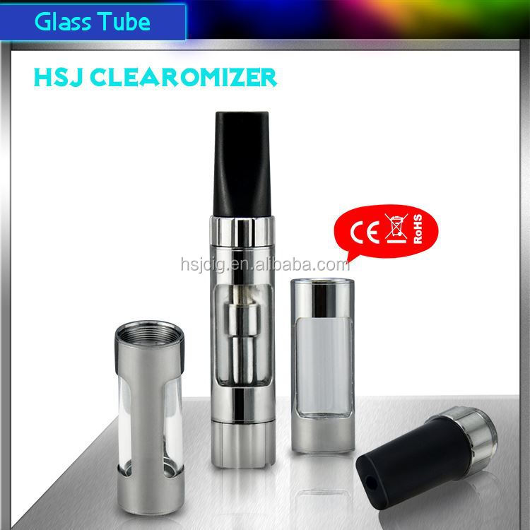 hsj electronic cigarette clearomizer rohs ce4 ce5 vivi nova v2 v3 v4 clearomizer no leak 1473 510 thread