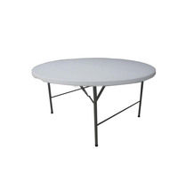 2016 Hot sale 150 CM High quality blow molding plastic round table