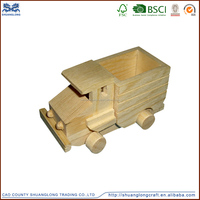 Children wooden toy cars kids educational toys handmade wooden cars
